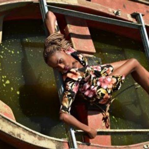 Flavia Musana – In a boat