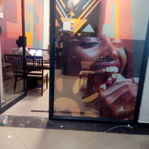 Cynthia on Musaana Food door – Cavalli Models Africa