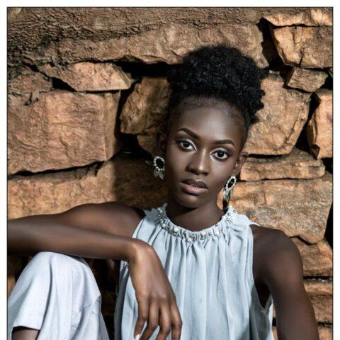 Miski Sheilah seated- Cavalli Models Africa